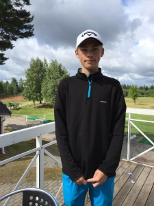 Den 1 juli gjorde 15 åriga Ludwig Welin HIO på hål 8. GRATTIS